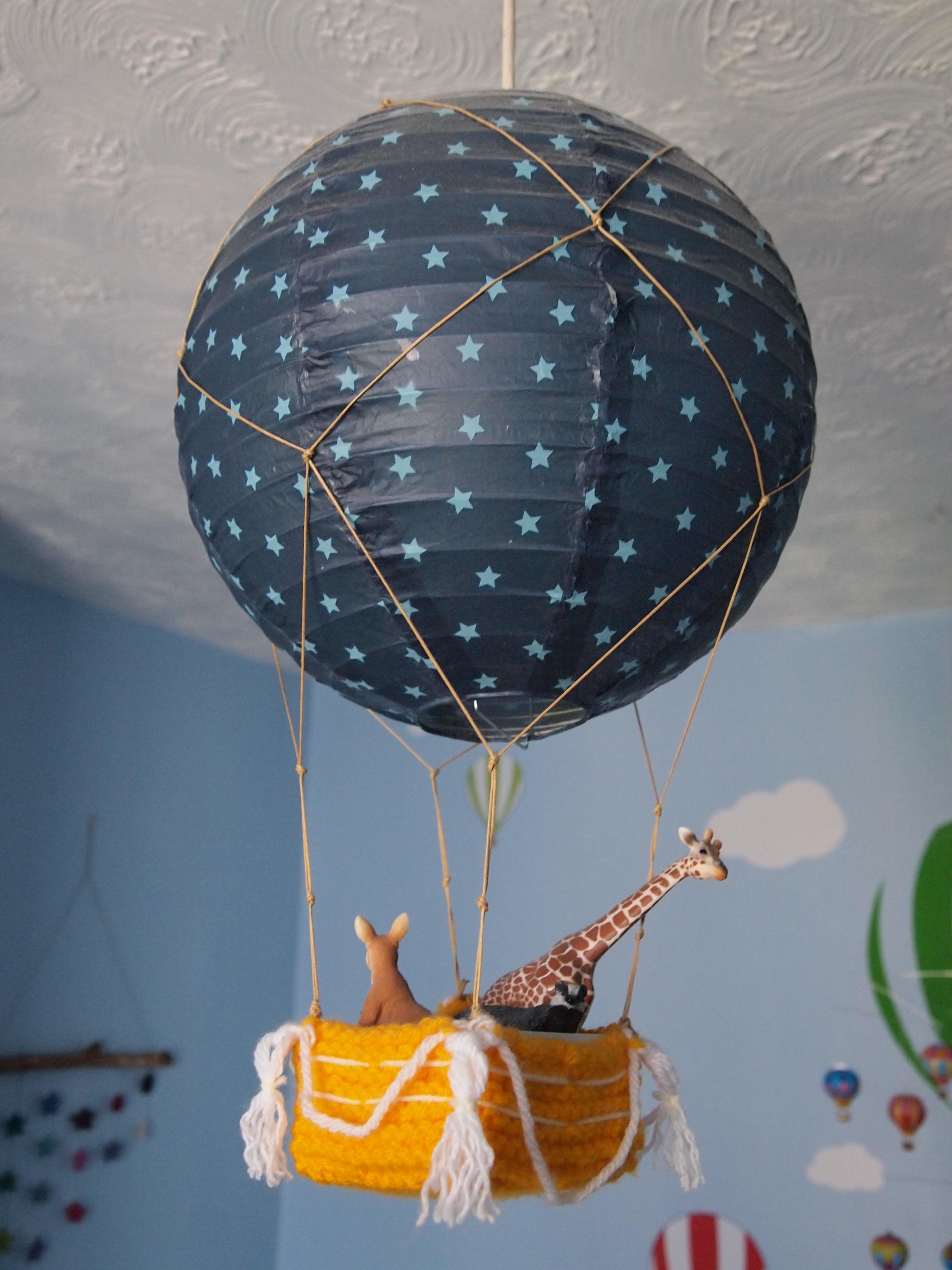 Making a hot air balloon lampshade bakedcottonstar olympus digital camera aloadofball Images
